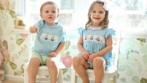 Smocked Baby Clothing